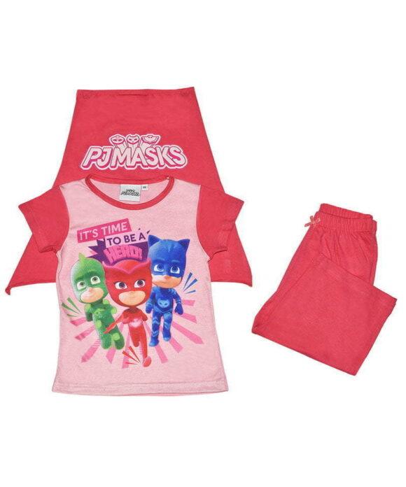 Παιδικό σετ με κάπα  PJ MASKS - PJ MASKS