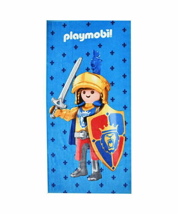 Πετσέτα θαλάσσης Playmobil ιππότης - PLAYMOBIL