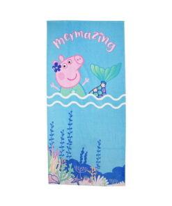 Πετσέτα θαλάσσης Peppa Pig γοργόνα - PEPPA PIG