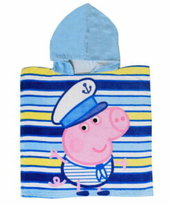 Πόντσο θαλάσσης George γαλάζιο - PEPPA PIG