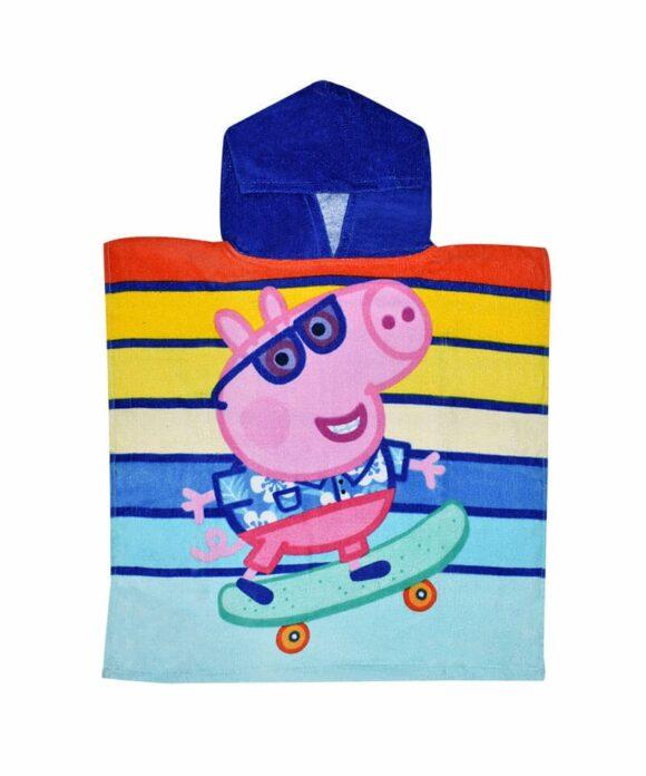 Πόντσο θαλάσσης George με ρίγες - PEPPA PIG