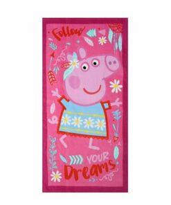 Πετσέτα θαλάσσης Peppa dreams - PEPPA PIG