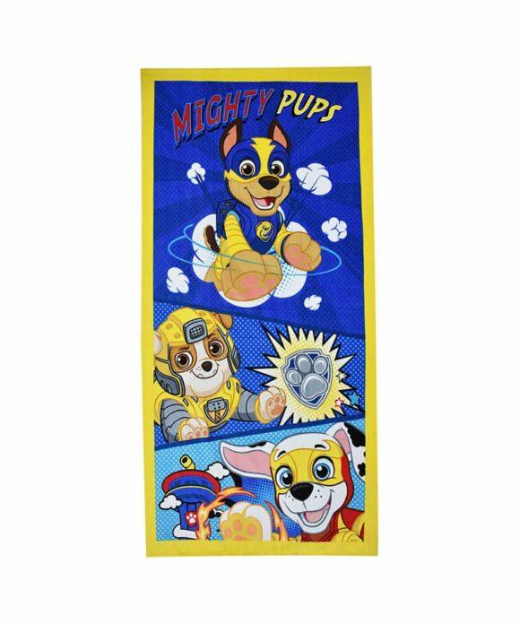 Πετσέτα θαλάσσης Paw Patrol παιδική - PAW PATROL