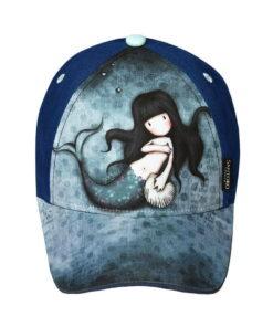 Παιδικό καπέλο τζόκεϋ Santoro Gorjuss  AWASHED - SANTORO