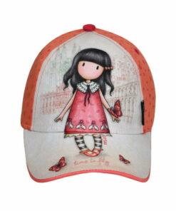 Παιδικό καπέλο τζόκεϋ Santoro Gorjuss  TIME TO FLY - SANTORO