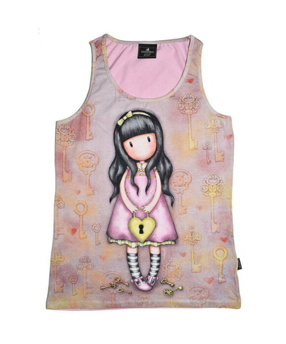 Παιδικό t-shirt αμάνικο Santoro Gorjuss  THE SECRET - SANTORO