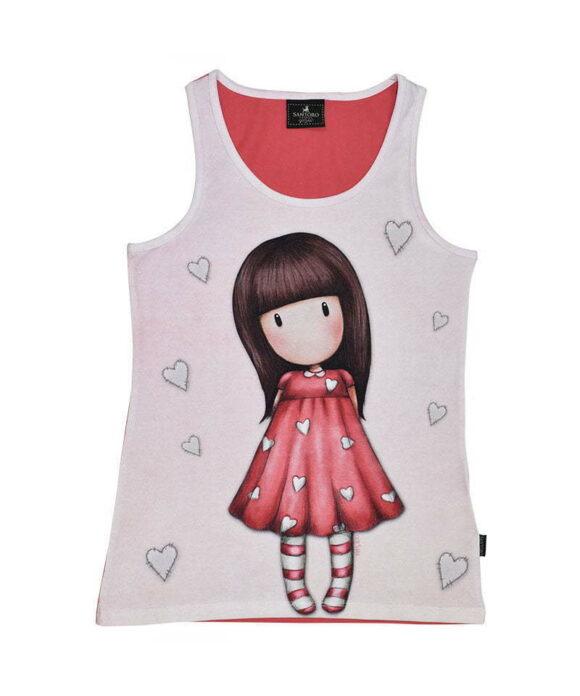 Παιδικό t-shirt αμάνικο Santoro Gorjuss  LITTLE LOVE - SANTORO
