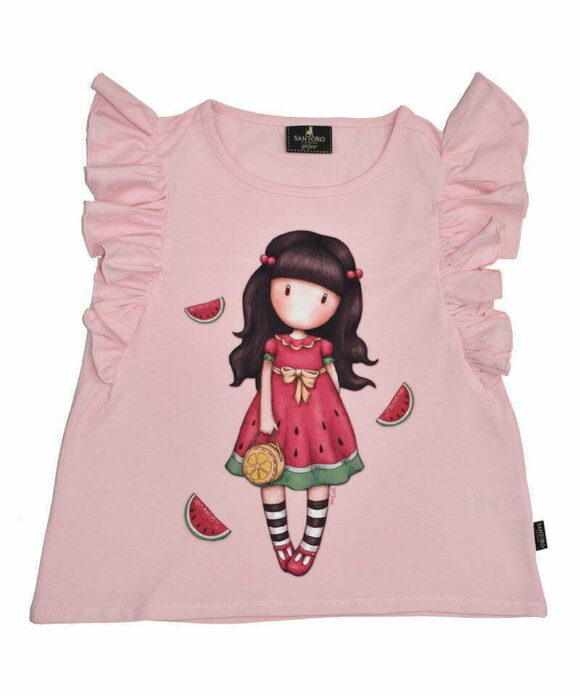 Παιδικό t-shirt αμάνικο Santoro Gorjuss  EVERY SUMMER HAS A STORY - SANTORO