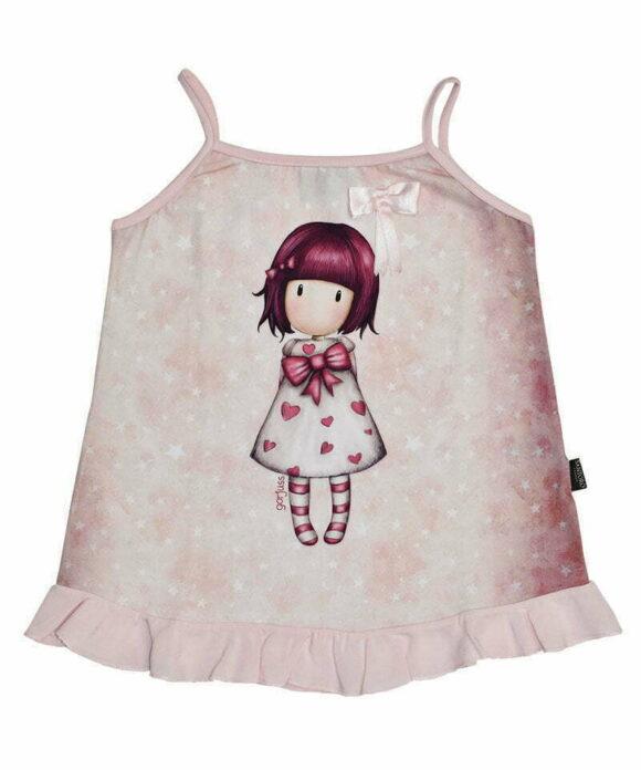 Παιδικό t-shirt τιραντάκι Santoro Gorjuss  LITTLE HEART - SANTORO