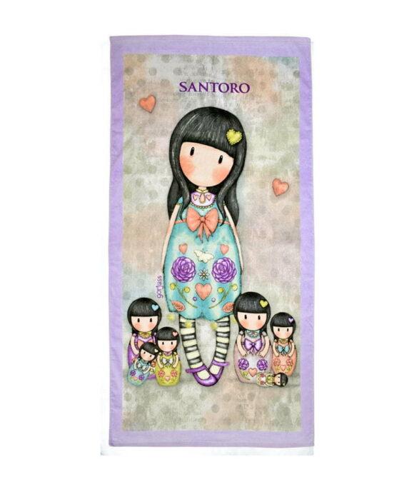 Παιδική πετσέτα θαλάσσης Santoro Gorjuss  SEVEN SISTERS - SANTORO