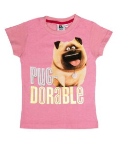 T-shirt Pets παιδικό ροζ - PETS