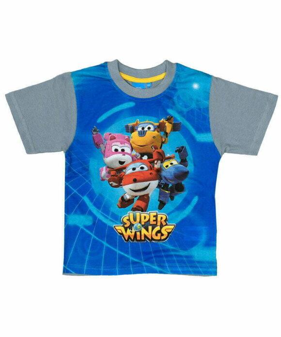 T-shirt κοντομάνικο Super Wings - SUPER WINGS