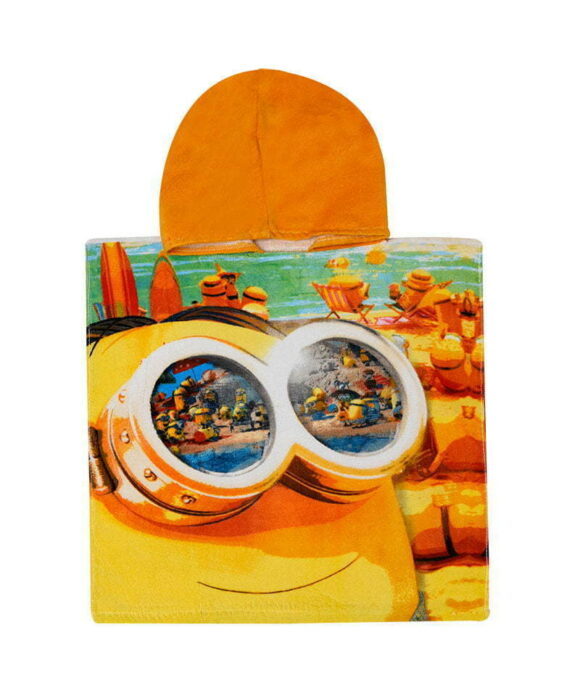 Πόντσο θαλάσσης Minions πορτοκαλί - MINIONS