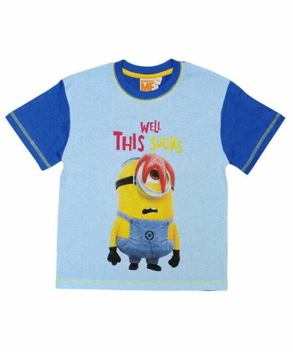 T-shirt κοντομάνικο Minions με τον Stuart - MINIONS
