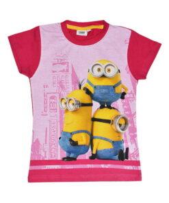 T-shirt κοντομάνικο Minions για κορίτσι - MINIONS