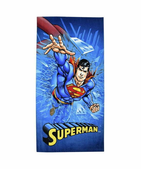 Πετσέτα θαλάσσης Superman παιδική - BATMAN VS SUPERMAN